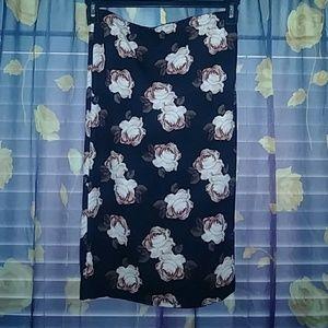 Midi Floral skirt New